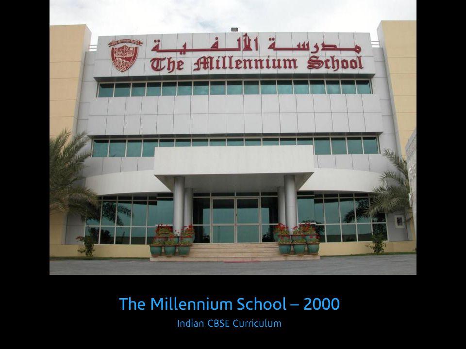 The Millennium School – 2000 Indian CBSE Curriculum