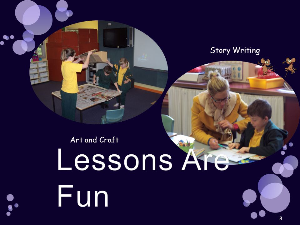 8 Art and Craft Story Writing