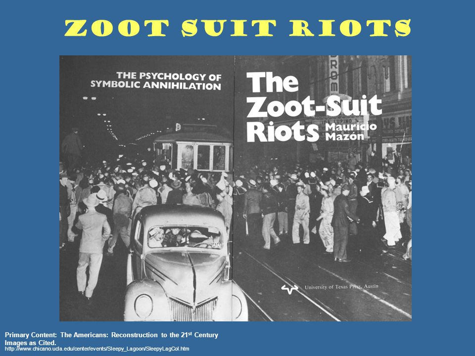 Seventy Years Later  The Zoot Suit Riots and the Complexity of     Splash Magazines Zoot Suit youth in jail thumb    x