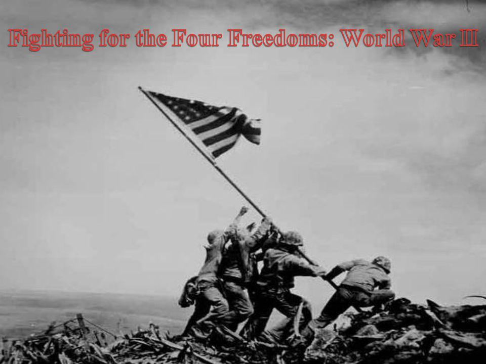 The Home Front WWII transformed the role of the national government.