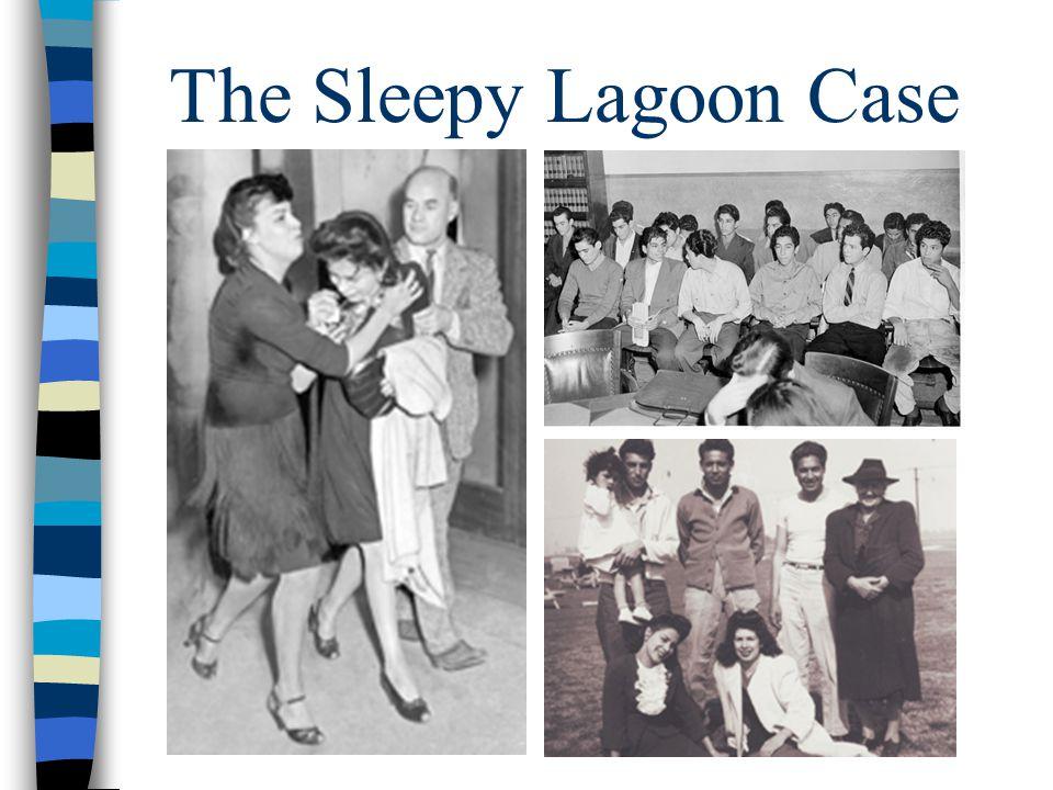 The Sleepy Lagoon Case