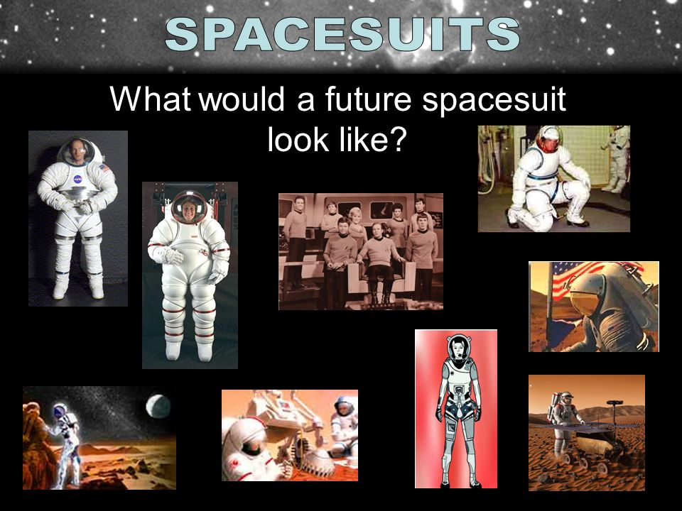What would a future spacesuit look like?