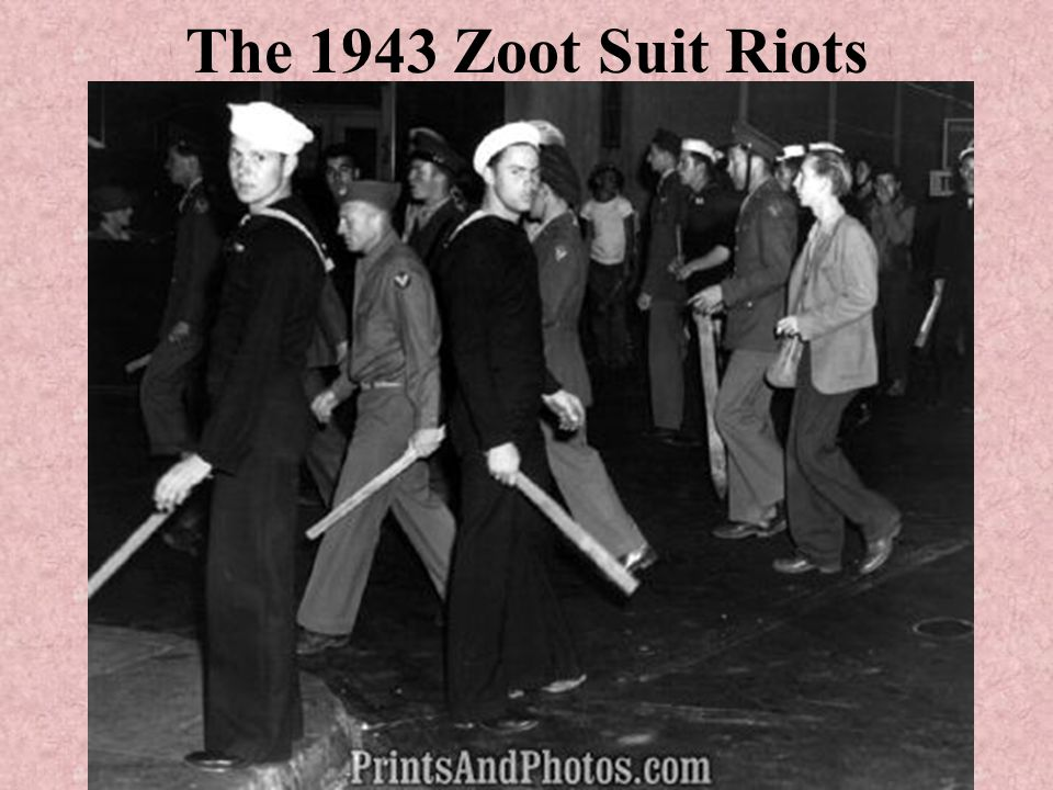 The 1943 Zoot Suit Riots