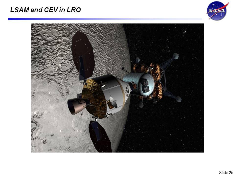 Slide 25 LSAM and CEV in LRO