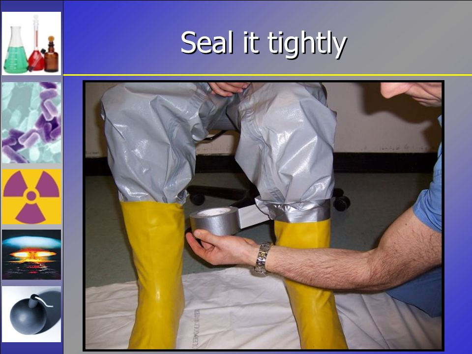 Seal it tightly