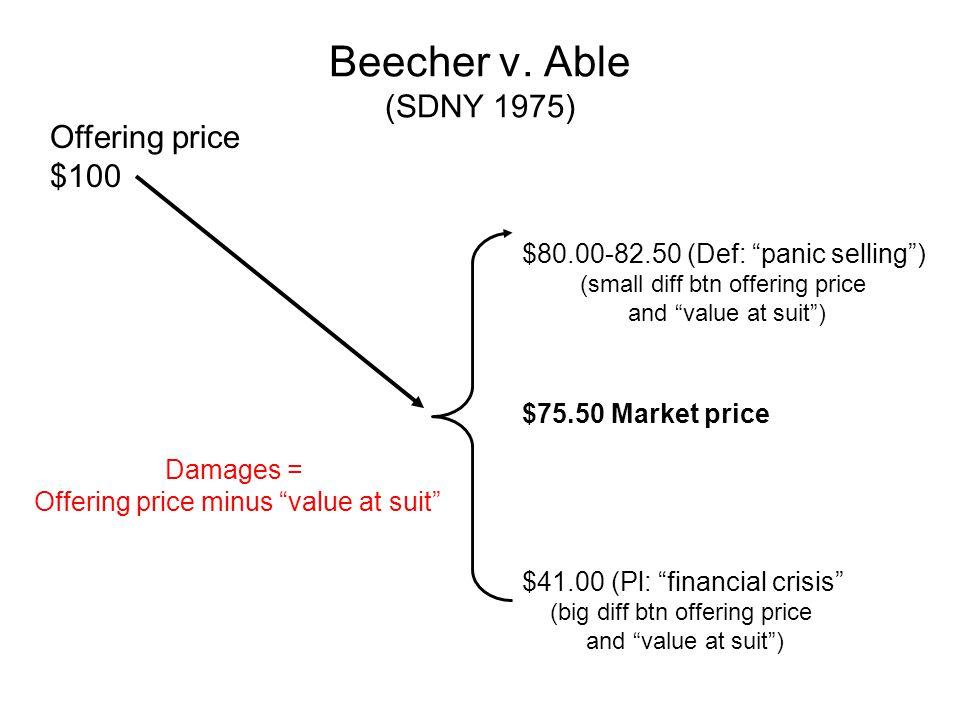 Eichensholtz v.Brennan (3d Cir 1995) IPO leads to §11 suit.