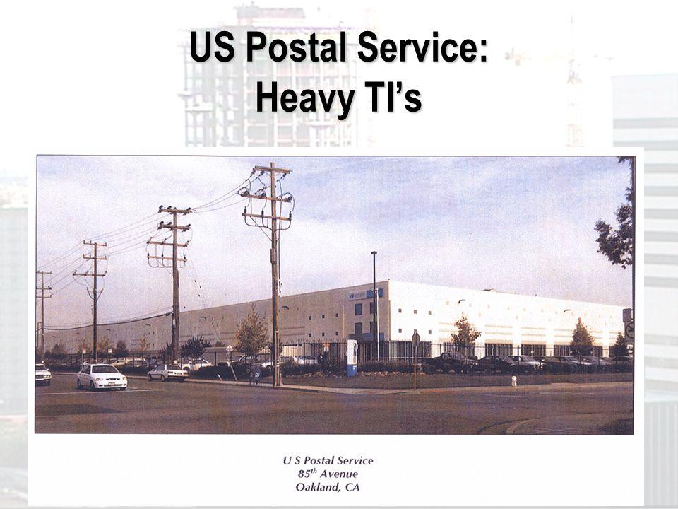 US Postal Service: Heavy TIs