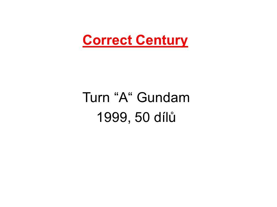 Correct Century Turn A Gundam 1999, 50 dílů