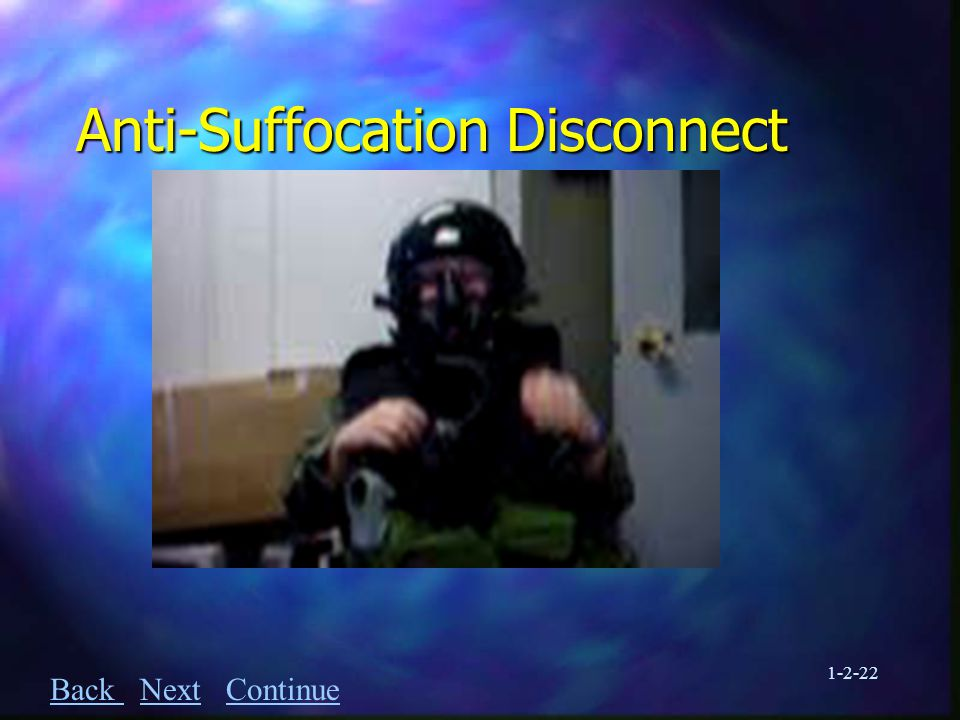1-2-22 Anti-Suffocation Disconnect Back Back Next ContinueNextContinue