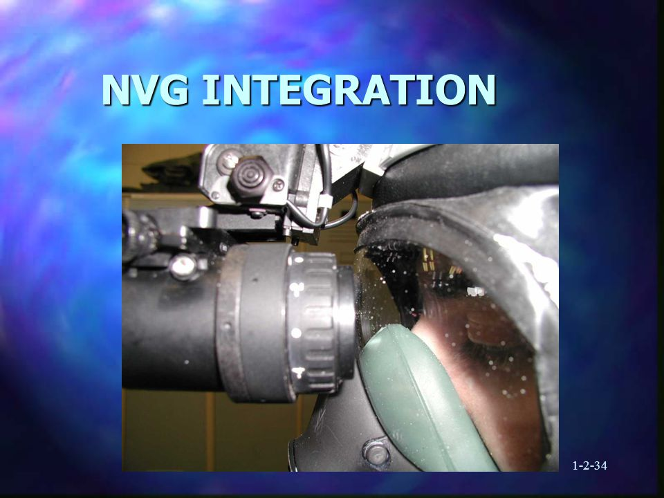 1-2-34 NVG INTEGRATION