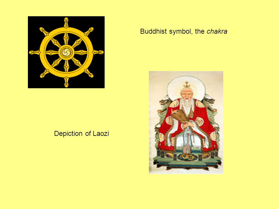Buddhist symbol, the chakra Depiction of Laozi