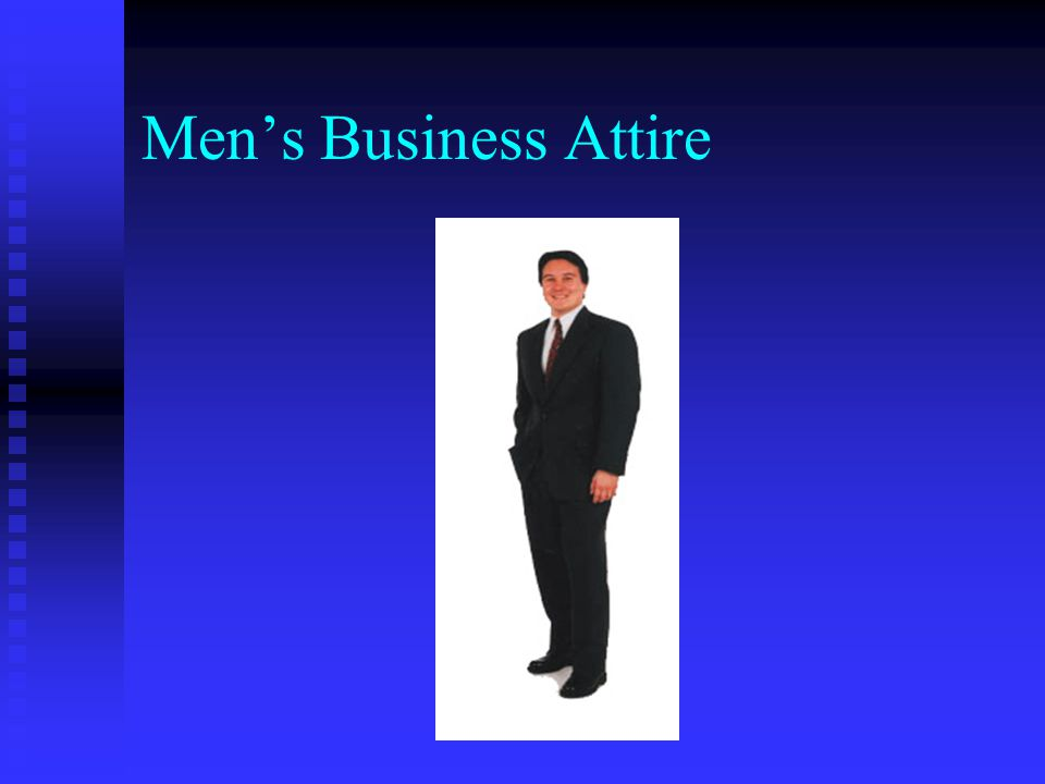 Mens Business Attire