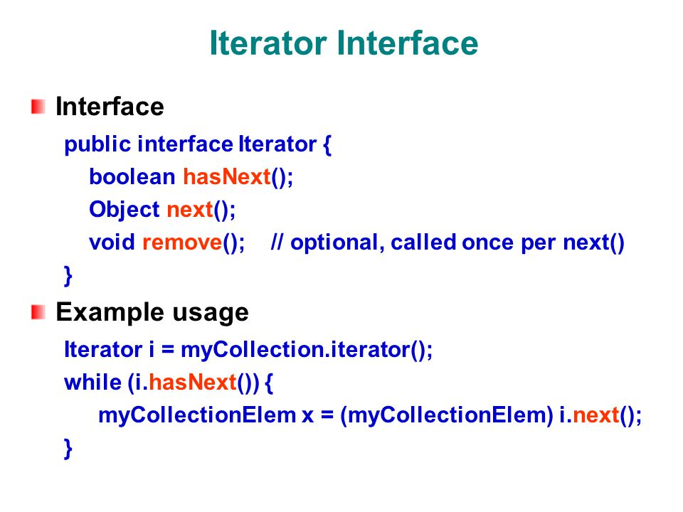 Enhanced For Loop Works for arrays and any class that implements the Iterable interface.