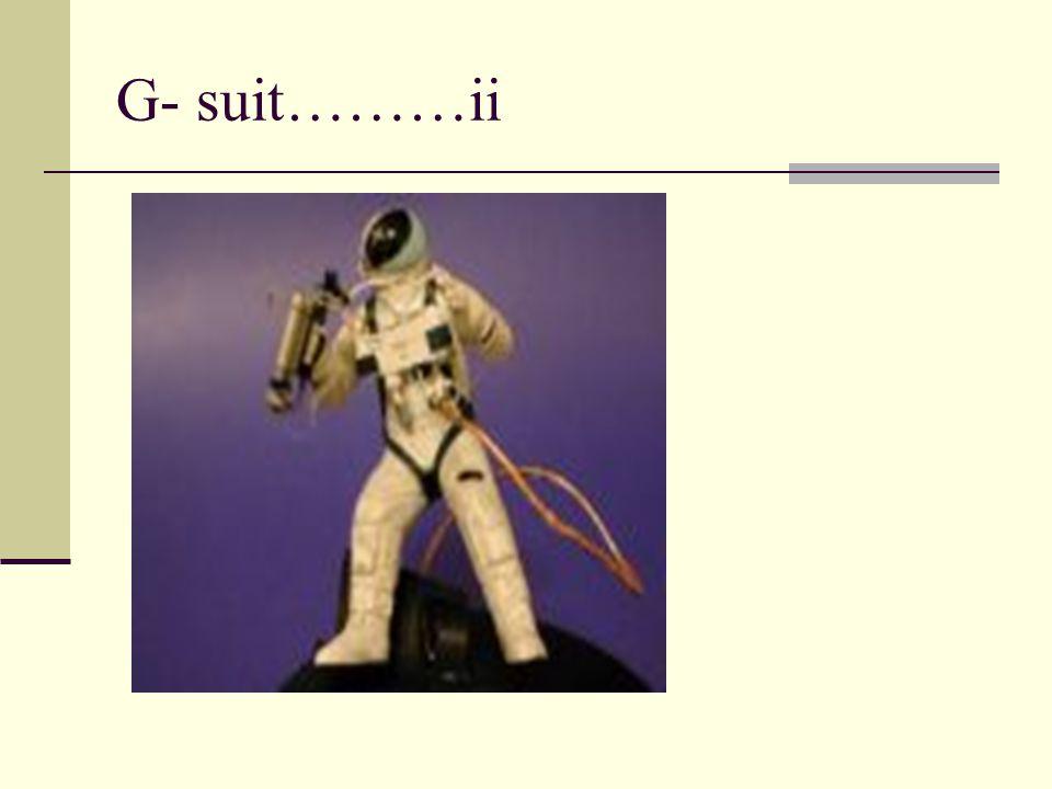 G- suit………ii