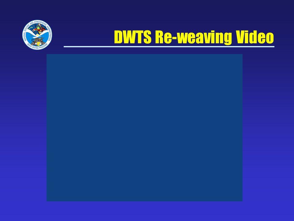 DWTS Re-weaving Video