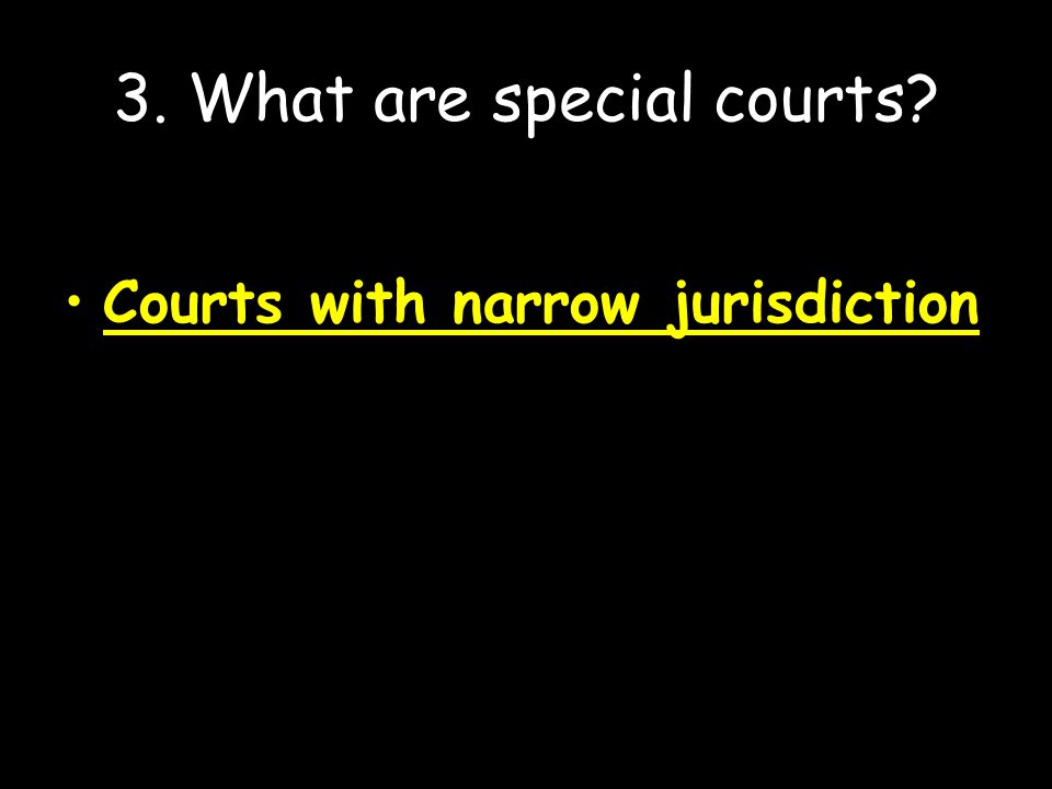 4.Under what circumstances may federal courts hear a case.