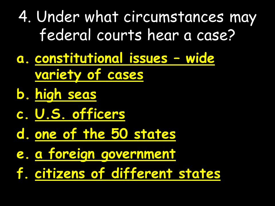 5.What is the procedure for the selection of federal judges.