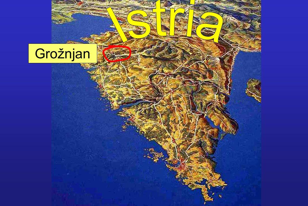 Grožnjan today is a city of artists!