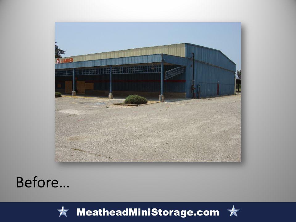MeatheadMiniStorage.com Before…