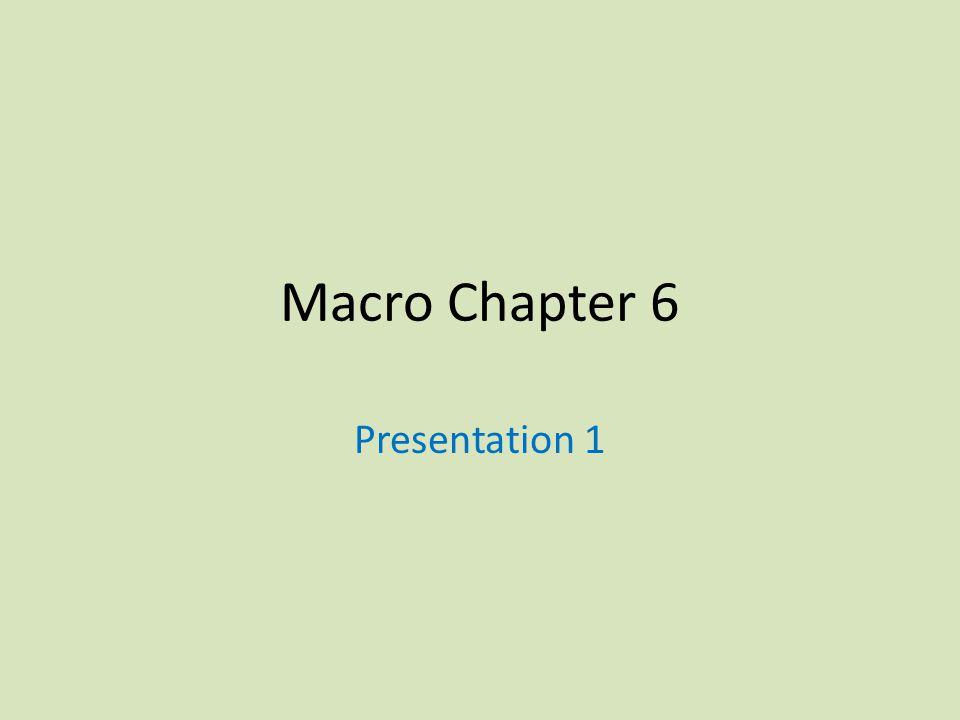 Macro Chapter 6 Presentation 1