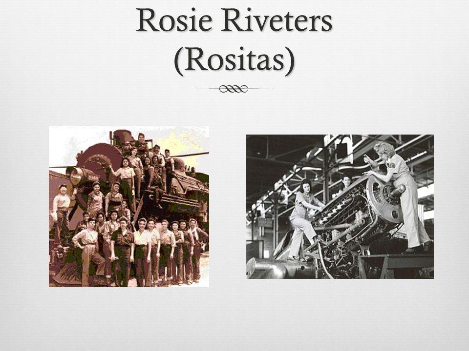 Rosie Riveters (Rositas)