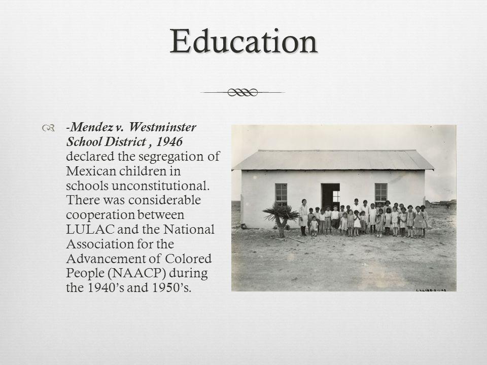 Education -Mendez v.