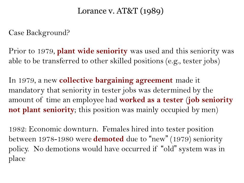 Lorance v.