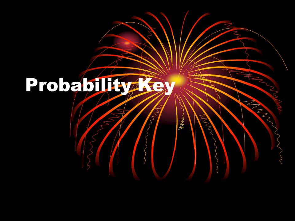 Probability Key
