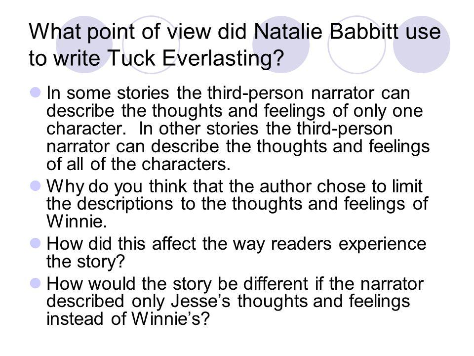 Tuck everlasting essay help?