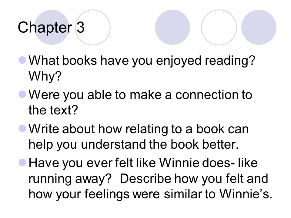 After reading Chapter 24 What is Point of view.