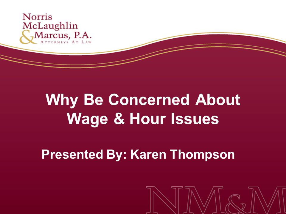 4 Why Be Concerned About Wage & Hour Issues: FLSA rules and regulations are confusing even to seasoned HR professionals Wage and hour lawsuits outpaced all other types of workplace class actions in 2009 and more suits are expected in 2010 FLSA collective actions in federal court outnumbered all other types of private class actions