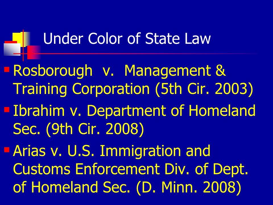 Bad Hiring/Screening Cases Bryan County (U.S.