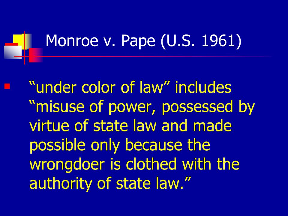 Workplace Cases : Prison Employees Prison employees are not like prisoners Sperle v.
