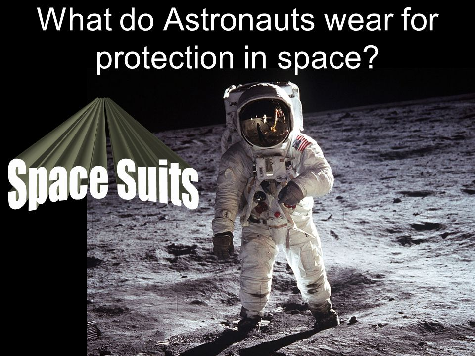 What do Astronauts wear for protection in space