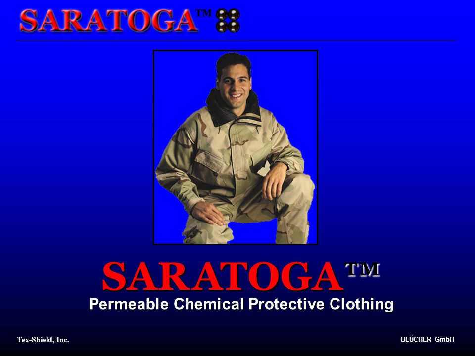 Tex-Shield, Inc. BLÜCHER GmbH TOGA SARA Permeable Chemical Protective Clothing