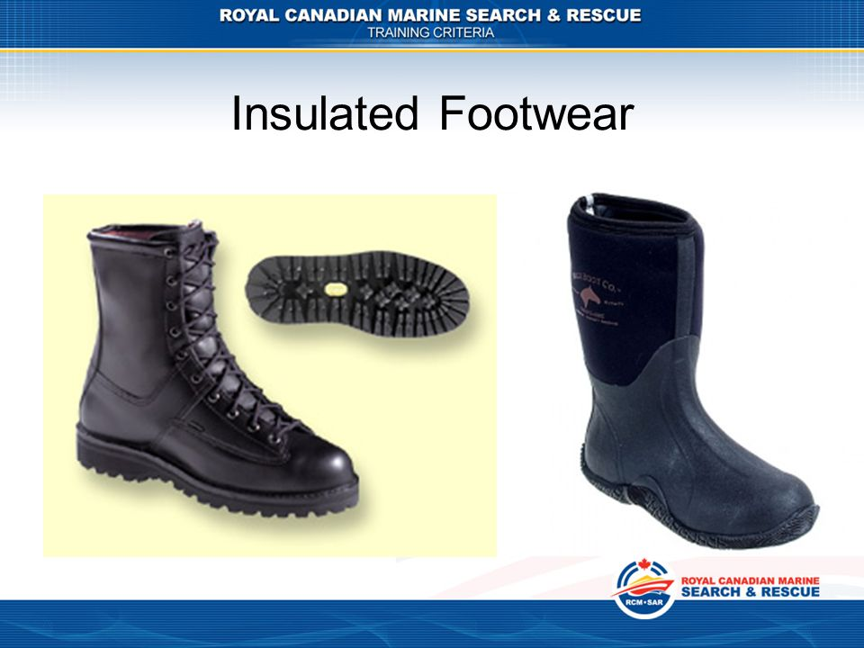 Insulated Footwear