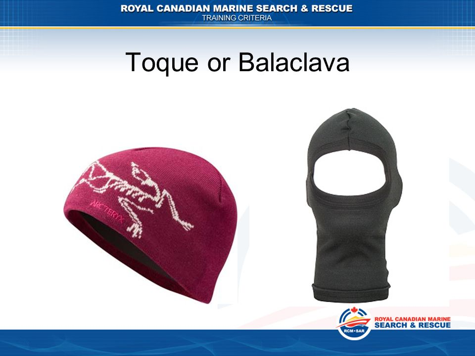 Toque or Balaclava