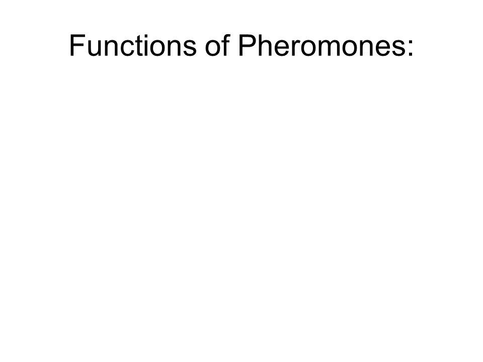 Functions of Pheromones: