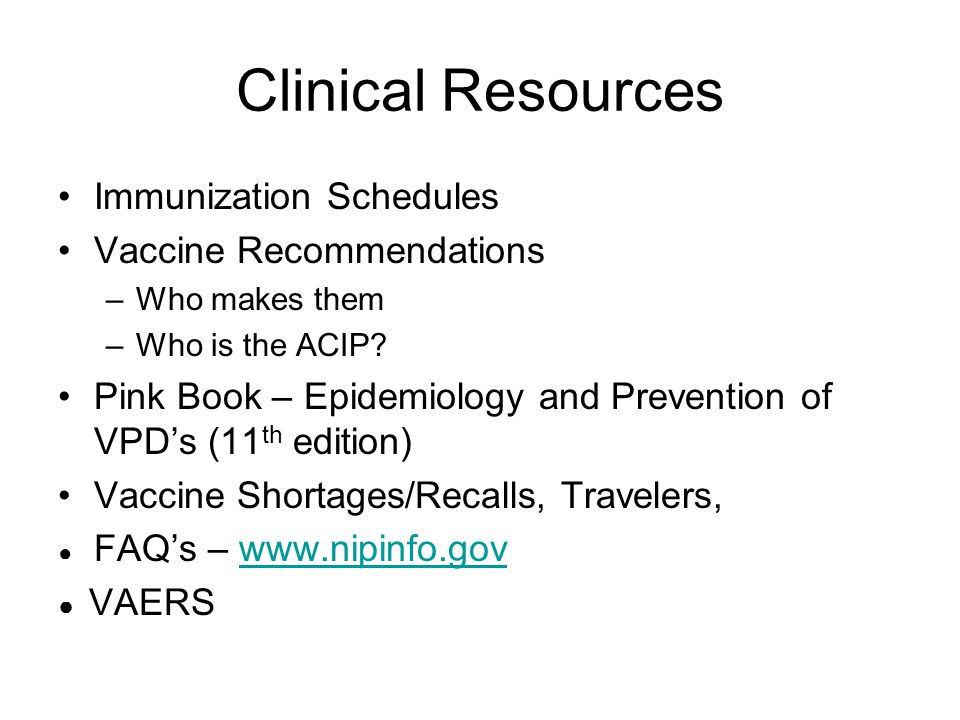 Provider Administrative Tools Storage and Handling of Supplies Vaccine Administration VFC (Vaccines for Children) Health Care Workers Vaccines Standing Orders Strategies for Increasing Rates Surveillance Data & Coverage Rates
