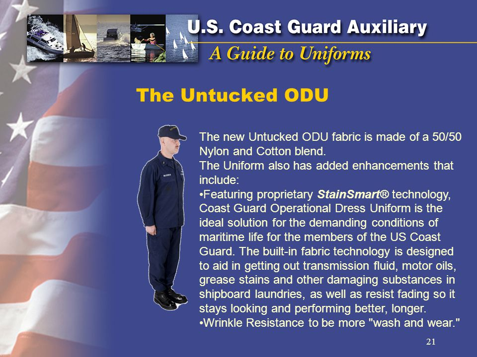The Untucked ODU The new Untucked ODU fabric is made of a 50/50 Nylon and Cotton blend.