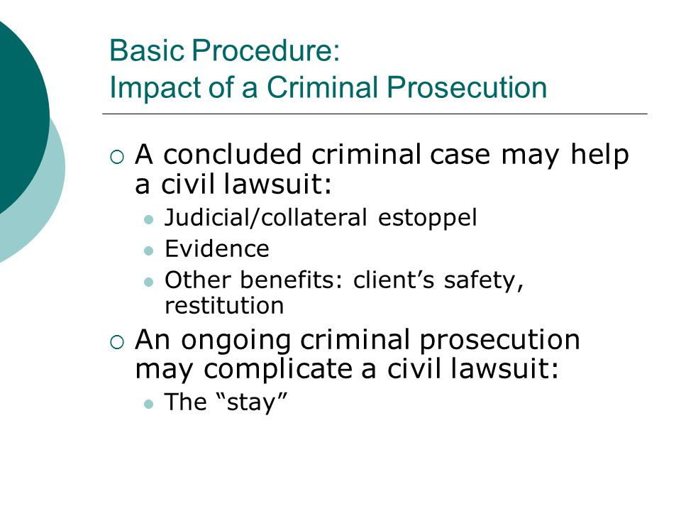 Basic Procedure: Protective Mechanisms Use pseudonyms in the complaint to protect the identity of the trafficked client.