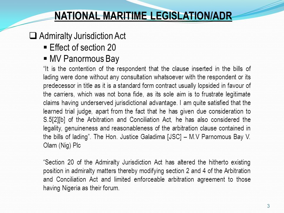 4 MV Lupex Arbitration agreement does not oust the courts jurisdiction but is an agreement of the parties which must be enforced.