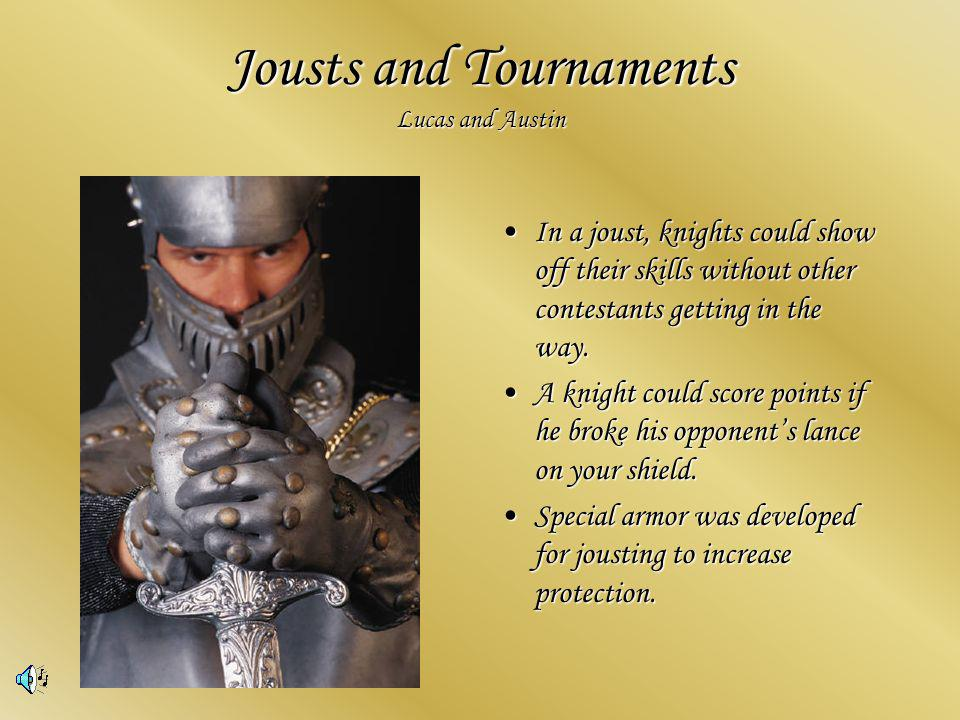 Jousting reached its height as a spectator sport in the 13 th century.