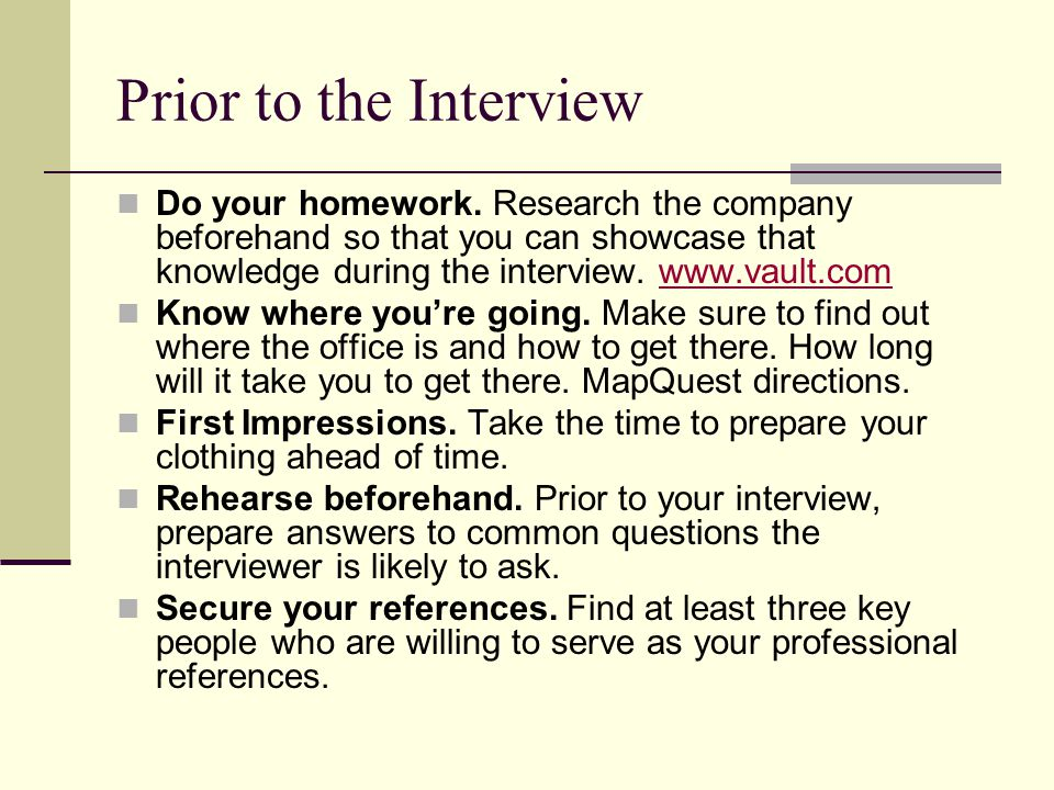The Job Offer What to do when they offer you the job.