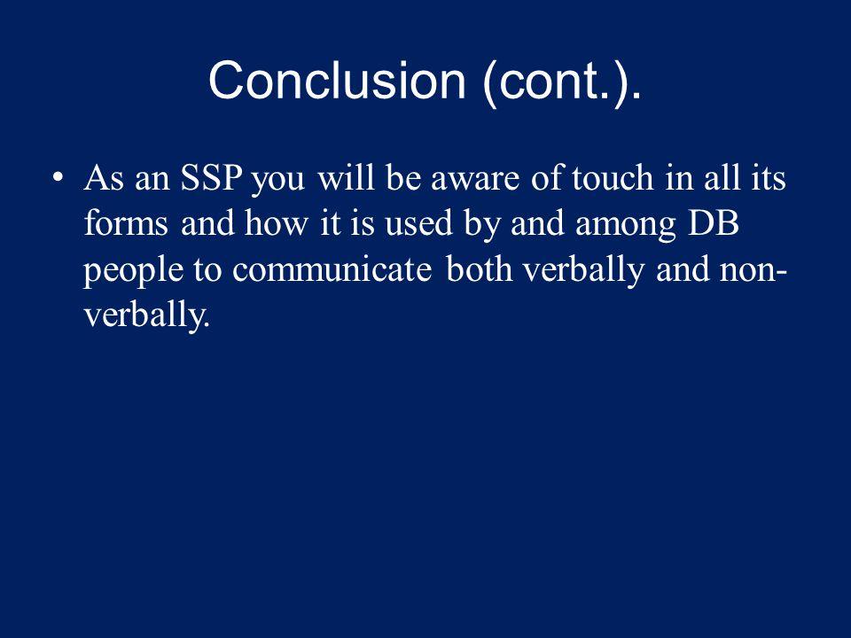 Conclusion (cont.).