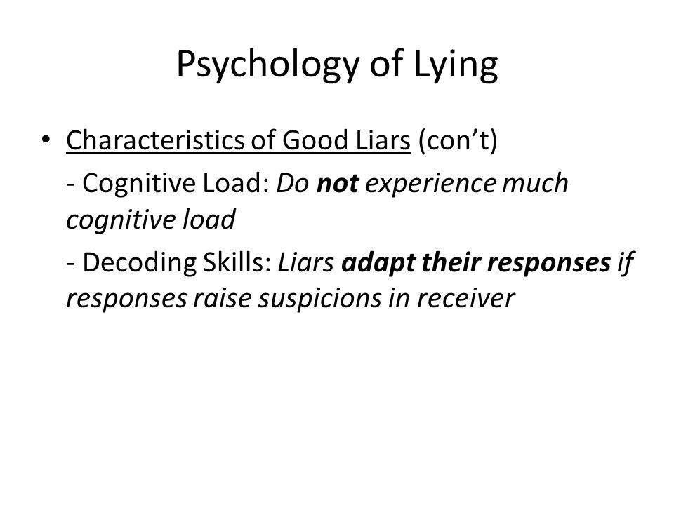 Psychology of Lying Neuro-Linguistic Programming – Dr.
