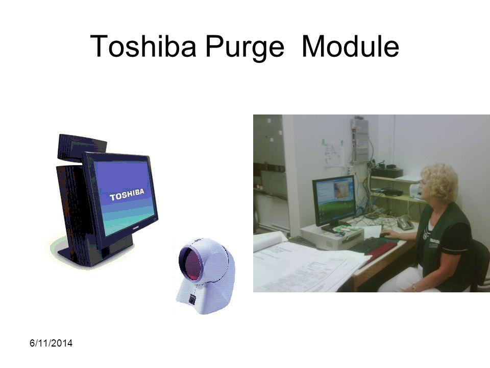 Toshiba Purge Module