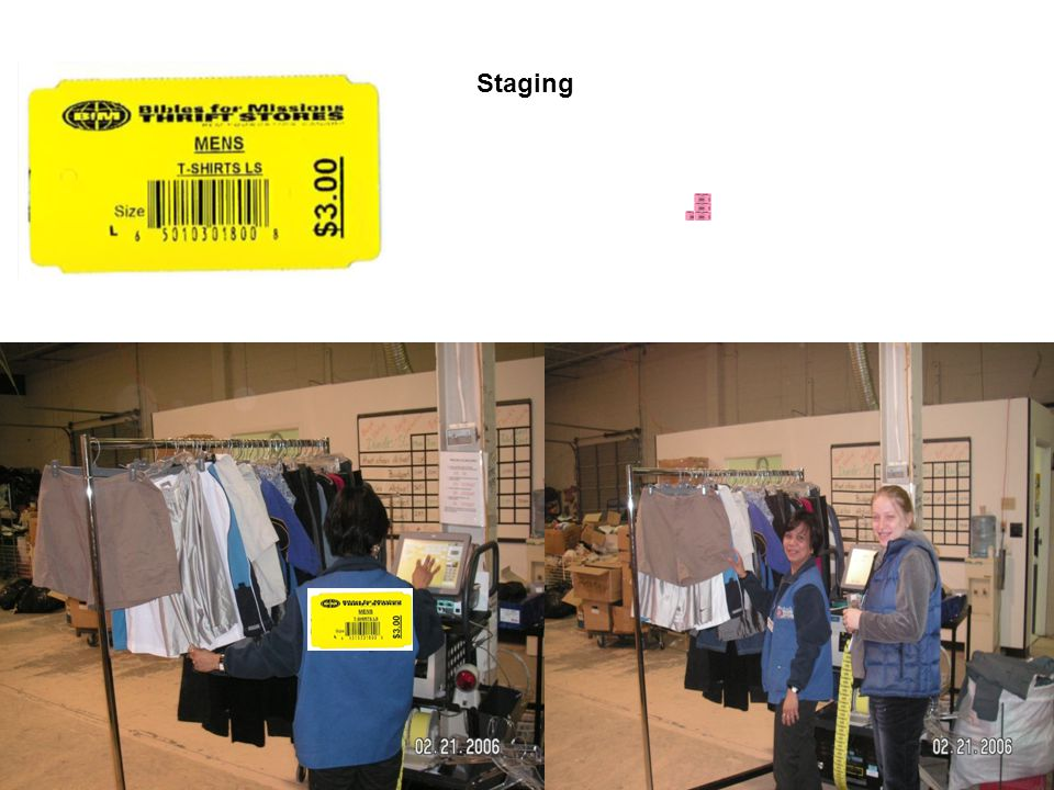 6/11/2014 Toshiba POS and Tagging Configuration Symphony Front EndTagging Back room Symphony Back room