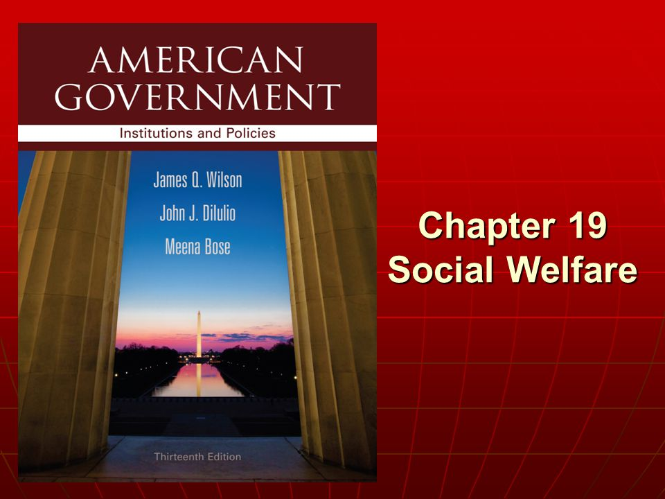 Chapter 19 Social Welfare