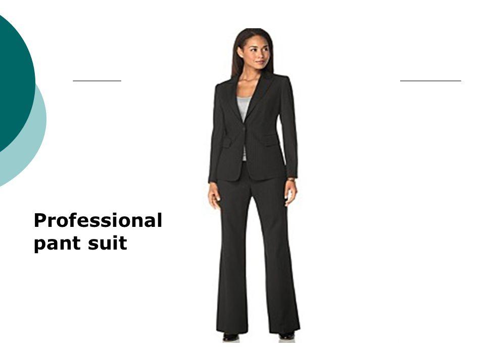 Professional pant suit